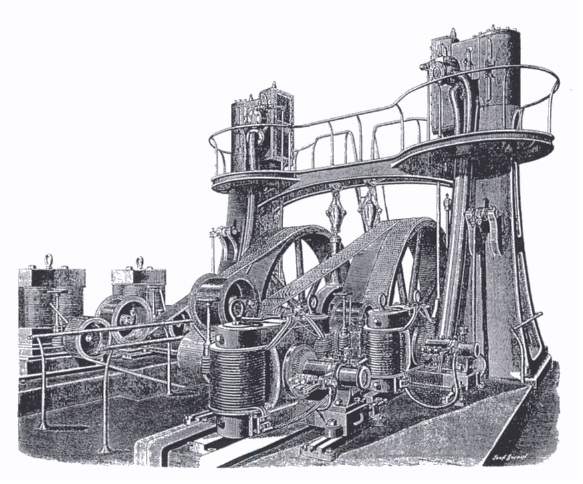 Mather and Platt generators at the Royal Jubilee Exhibition
